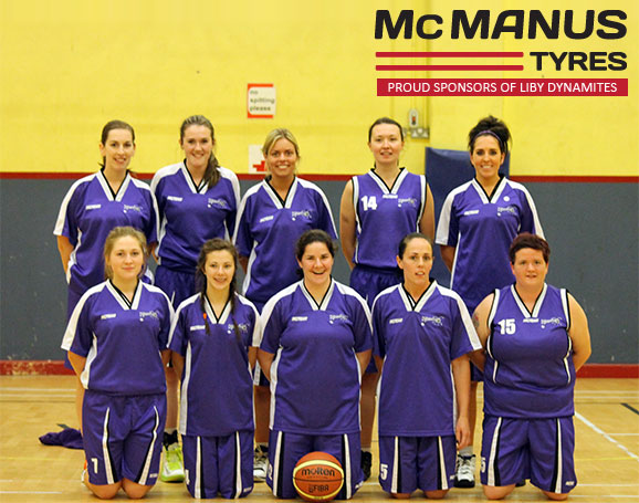 McManus Tyres, Dundalk proudly sponsors Liby Dynamites Basketball Club