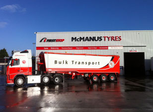 Truck tyres Dundalk!